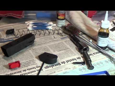 AMIGOS DO TIRO: Limpeza da pistola Taurus PT-638 (Rafael Szendrodi)