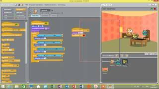 игра в Scratch  Создание игры с нуля  Часть №1