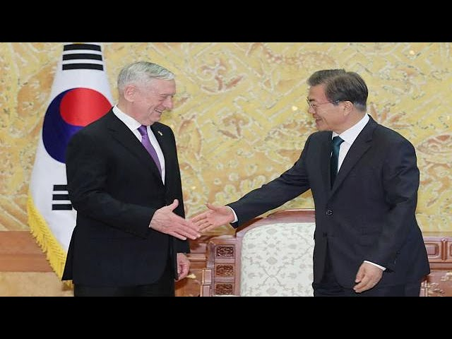 US 'can't accept' nuclear North Korea