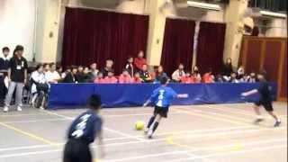 觀塘小學3人足球比賽2013年將軍澳官小VS聖愛德華天主教小學