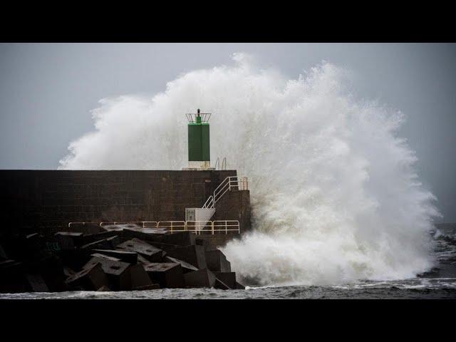 Потужний шторм на півдні Європи забрав життя вісьмох людей