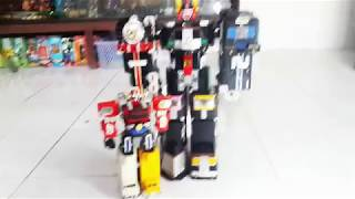 Review Mainan segede bayi! DX Grand Liner Gogo v - Super Train Megazord - Scaretoys