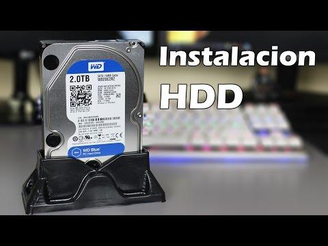 Como instalar un Disco duro?
