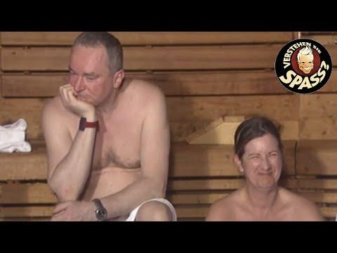 Verstehen Sie Spass - Grillen in der Sauna