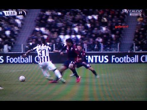 Juventus Genoa 1 0 Fallo da rigore su Pereyra i dubbi a Sky Marocchi e Compagnoni