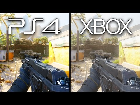 Playstation 4 vs Xbox One Black Ops 3 Graphics Comparison (XB1 PS4 Gameplay)