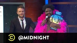 Arden Myrin, Brody Stevens, Ron Funches - Justin Bieber Strips on Live TV - @midnight