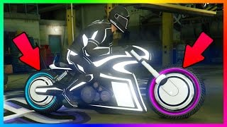 GTA 5 DLC SECRET FEATURES/HIDDEN DETAILS & THINGS YOU DON'T KNOW ABOUT NEW SHOTARO TRON BIKE & MORE!