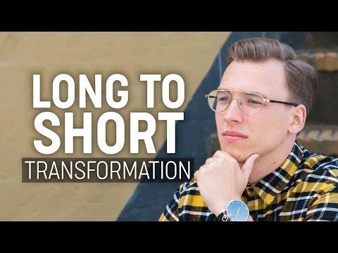 Long to Short Hairstyle | Men's Hair Transformation 2018 thumbnail