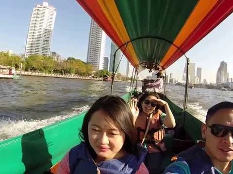Chao Praya River Tour by long tail boat