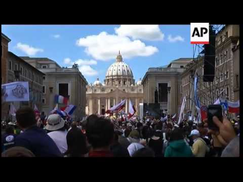 Italy / Poland - Beatification of Pope John Paul II