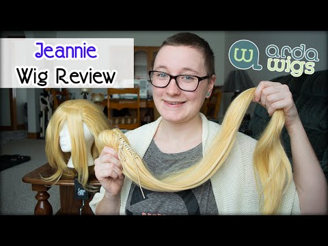 Arda Wigs (Canada) - Jeannie (Platinum/ Fairy Blonde) Wig Review    Soulfool Paraiso