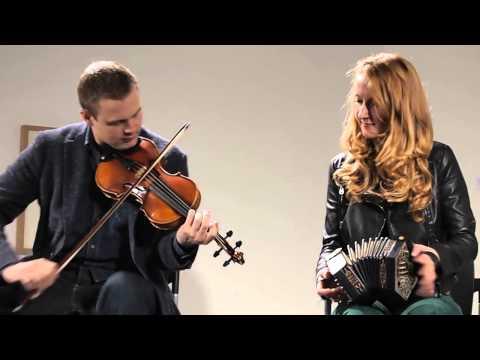 Caitlín Nic Gabhann and Ciarán Ó Maonaigh