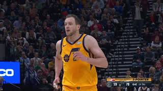 Jazz break franchise record with 20 made 3-pointers versus the Spurs