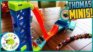 THOMAS MINI TARGET BLAST!! Thomas and Friends Fun Toy Trains for Kids
