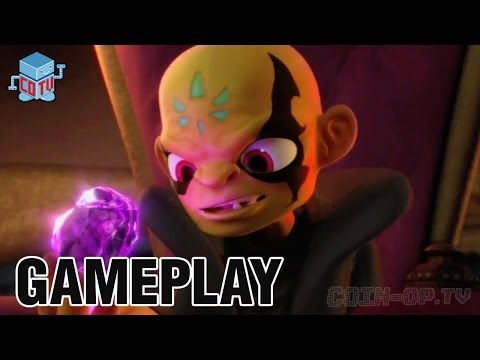 Skylanders Swap Force Gameplay 02 Cascade Glade
