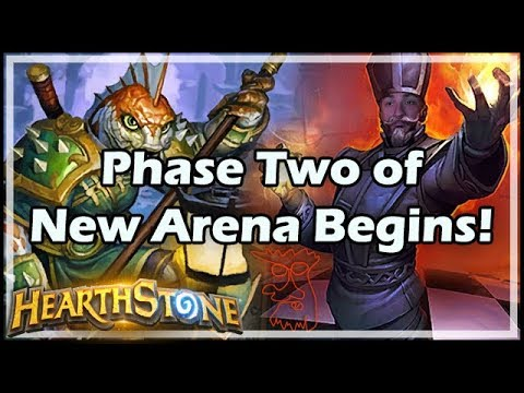 [Hearthstone] Phase Two of New Arena Begins!