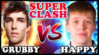 GRUBBY vs HAPPY | SUPER CLASH | Warcraft 3 TFT
