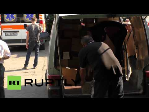 Ukraine: Pushilin delivers medical supplies to Makeevka hospital
