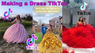 Play this video Making a Dress TikTok  Shay Compilation makingadress tiktok Dress fashion