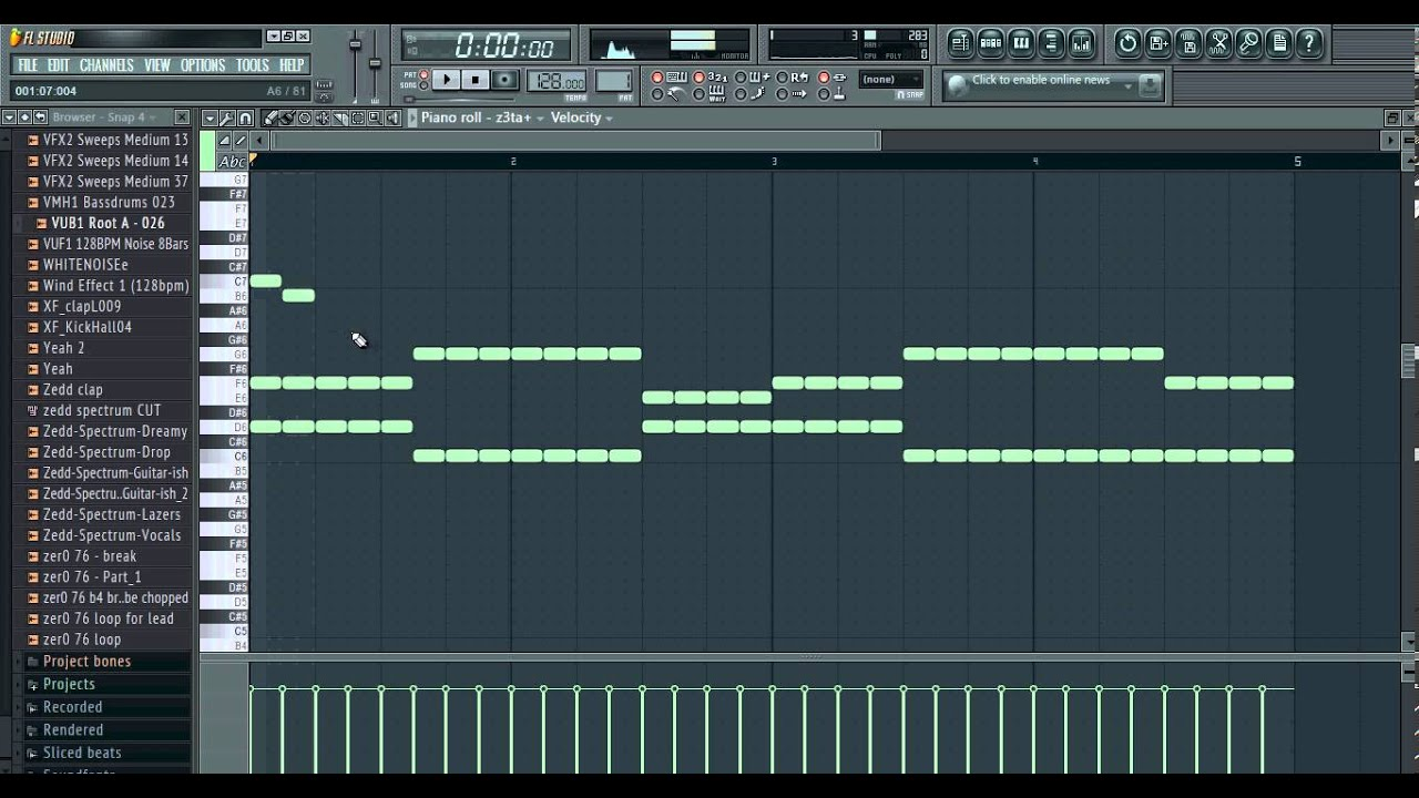 FL Studio Tutorial - Making progressive house chords - YouTube
