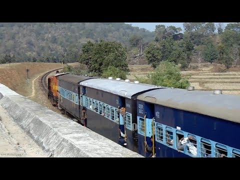 150th Upload Queen Of Narrow Gauge satpura Express On Curve video