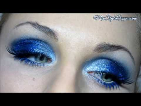 Макияж синий smoky eyes (смоки айс. дымчатые глаза) / Вечерний Makeup / Smoked UDecay