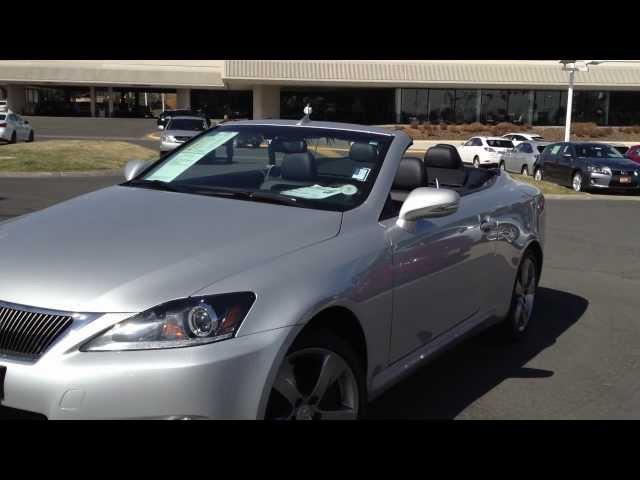 2011 Lexus Certified IS 350 Convertible For Sale Denver, CO | 1.866.624.1518