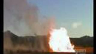 Mythbusters Minigun - 007 Bond Special - Explode A Gas Tank
