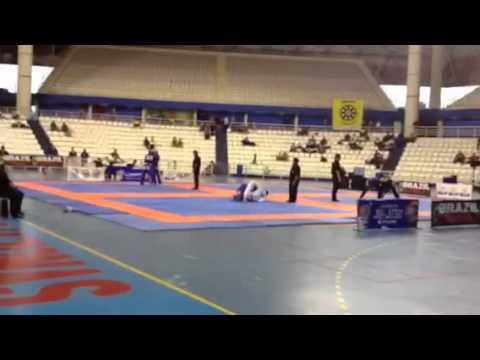 Alexandre Castro jiu jitsu manaus Open 2014 parte 1