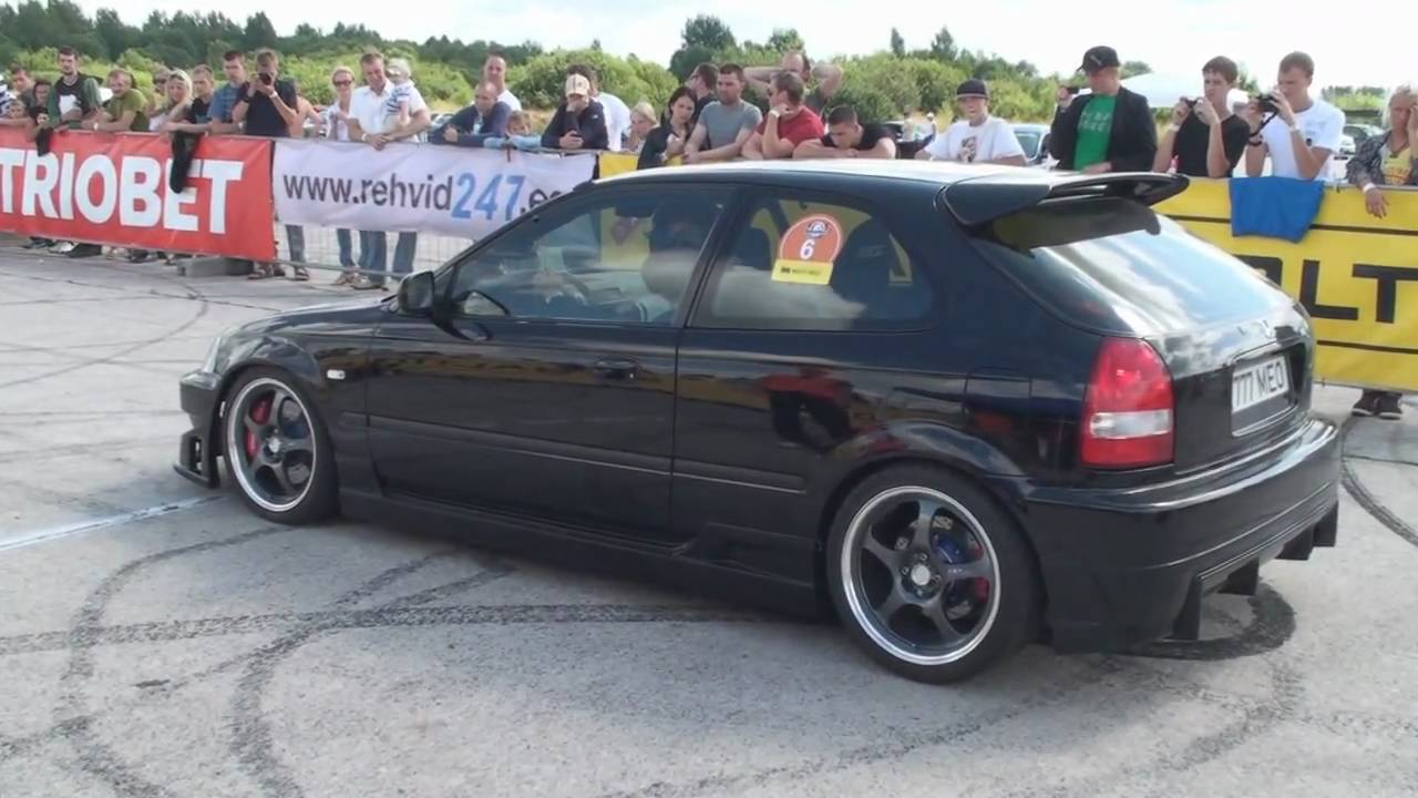 Honda Civic 1.6 Turbo Honda Civic 1,6 Vti Turbo