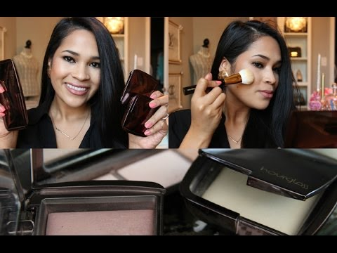 How I Use: The Hourglass Ambient Lighting Powders Review and Demonstration