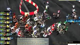 Les meilleures chutes sur Pro Cycling Manager 2011