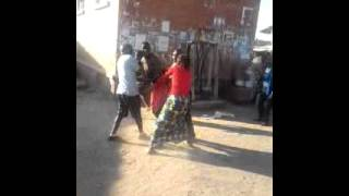 African fight