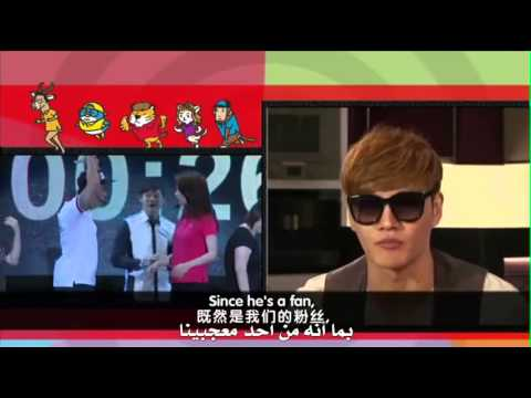 Running Man interview part1 arab sub