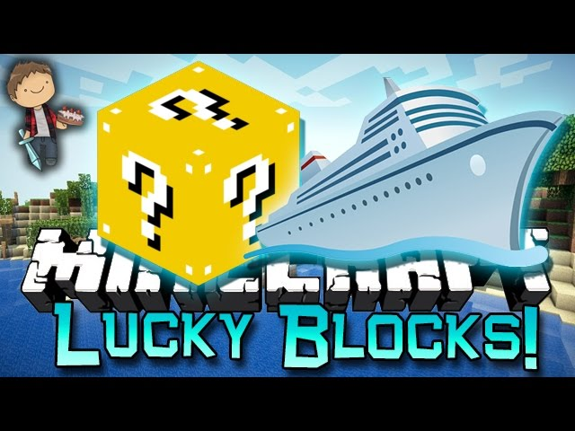 Minecraft: LUCKY BLOCKS CRUISE SHIP Mods! Mini-Game Challenge PVP Modded!