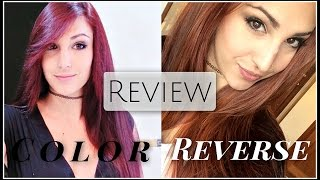 Review Color Reverse de Salerm: ¿Quitar el pigmento rojo SIN DECOLORAR tu pelo? | Sandsleek