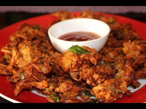 ഉള്ളി ബജ്ജി ഹോട്ടൽ രുചിയിൽ l Onion Pakoda l Ulli Bajji