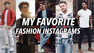 MY FAVORITE FASHION INSTAGRAM/INFLUENCERS - STYLE INSPO! | JAIRWOO