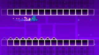 Geometry Dash- Back On Track ALL STAR COINS!!!!!!