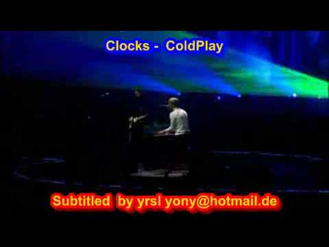 ColdPlay  - Clocks ( SUBTITULADO INGLES ESPAÑOL )