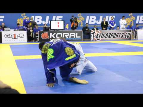 IBJJF 2014 European Open Jiu-Jitsu Championship Black Belt Adult Open Class Semi Final Image 1