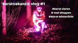 Kerstvakantie vlog #1 - Kerst vieren, veel shoppen & Warm Winterlicht-