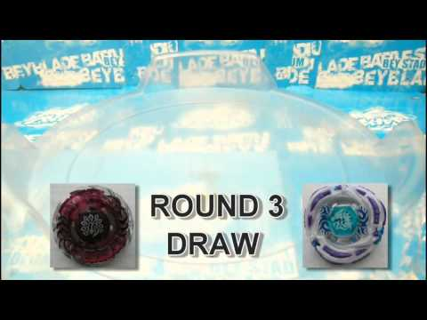 Beyblade Metal Fight : Meteo L Drago LW105LF vs Kiler Beafowl UW145EWD AMVBB [HD