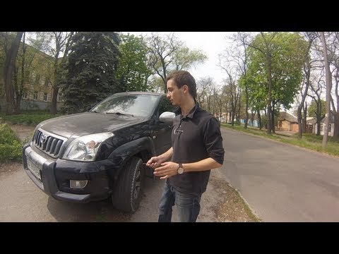 Тест драйв от Коляныча #6 TOYOTA  Land Cruiser PRADO 120  2.7
