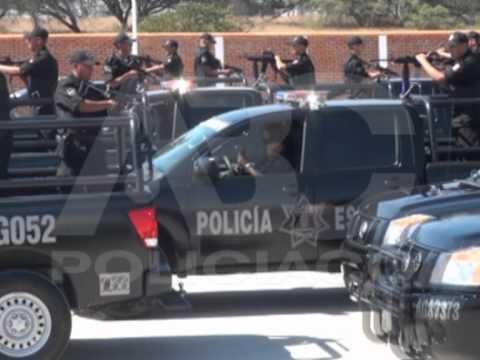 Entregan nuevas patrullas para la Policia Estatal de Ags