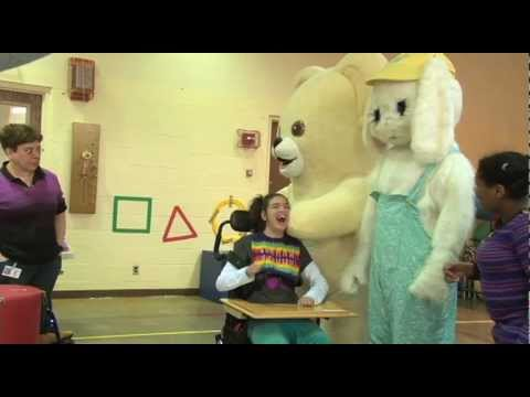 Beeper Roll: Students Hunt for Beeping Easter Eggs at the Maryland School for the Blind