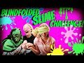 BLIND FOLD SLIME CHALLENGE WITH MY BARN FRIENDS