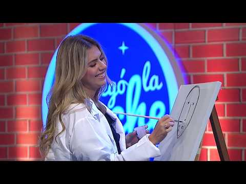 Ana Sofía Henao demuestra su talento para la pintura   Llegó La Noche