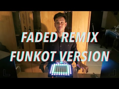 FADED FUNKOT REMIX VERSION - ANANTAVINNIE